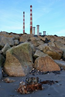 In the shadow of... you guessed, Poolbeg's twins...