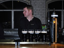 The Black Stuff in the Guinness Store house... at home!