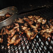 Chicken wings on the braai... delicious!