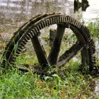 Crown gear? From where? How did it get to be stuck in the mud at the edge of the Shannon?