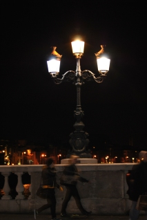 Liffey Lights... Crossing O'Connell Street Bridge...