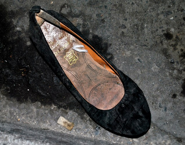 Ladies, stop throwing your shoes away!
