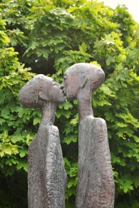 Now... the temptation suggested here is of such a nature that I cannot discuss it any furher on this family program... The Kiss, Rowan Gillespie, Dubli, Ireland