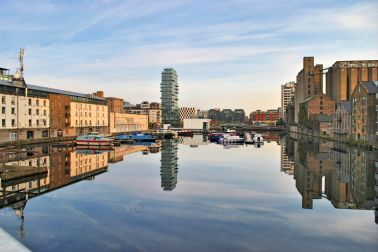 Grand Canal Dock, Dublin, Ireland - HDR fun...