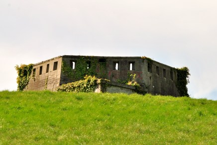 One of the hexagonal turrets of Magazine Fort, Phoenix Park, Dublin Ireland