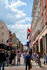 Grafton Street in the sunlight...