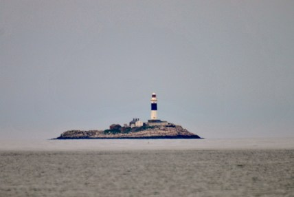 Rockabill Rising? Who knows?? The lighthouse off the Skerries coat, Irish Sea...