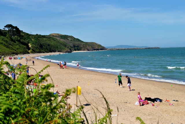 Clogga Cove beach... Arklow, Co Wicklow