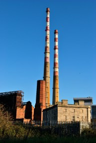 Relics - The Poolbeg Chimneys and other assorted structures of industrial historical value, Dublin, Ireland.