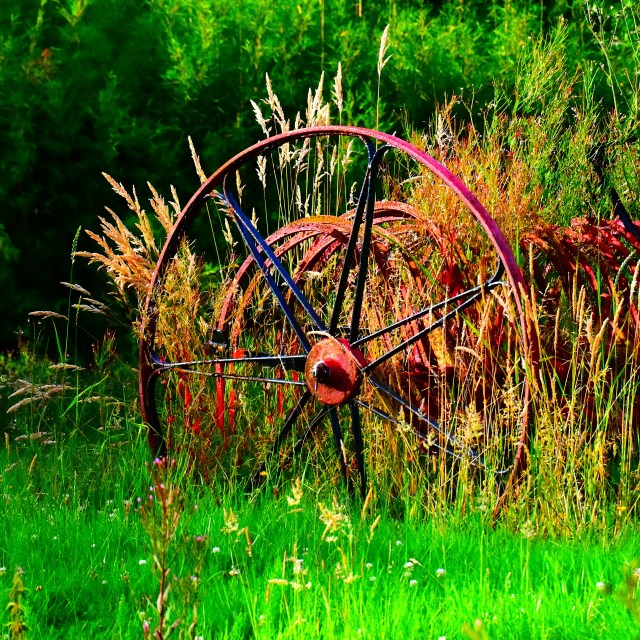 Rural rustic of too enhanced?