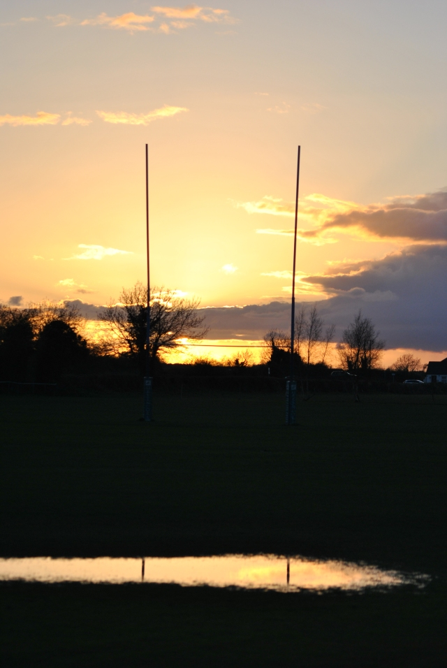 Goalposts shifting into the sunset?