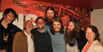 Pat James of Radio Nova joins us for a snap or two...