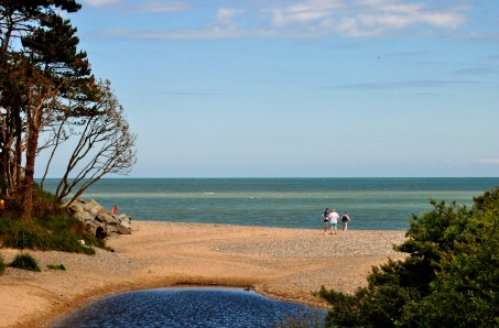 Beach beginning a mile or so north of Courtown, Co Wexford