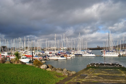 Masts aplenty... Howth Harbour, Co Dublin, Ireland