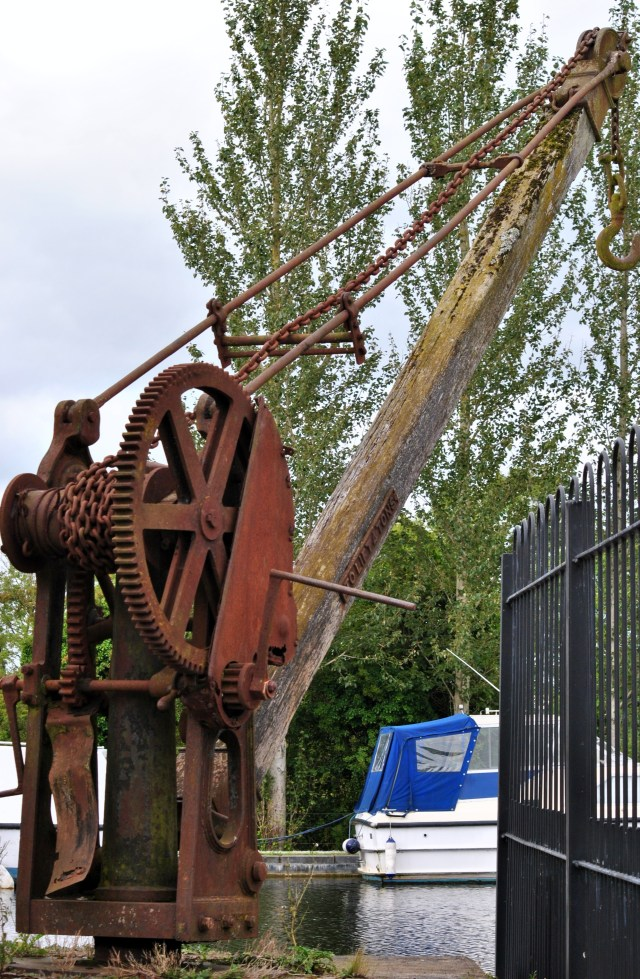 Need a lift?Visit Shannon Harbor at the end of the Grand Canal to test this baby...