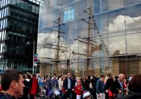 Tall Ships 2012!! The biggest throngs of humanity to be seen in Dublin for may a decade!!