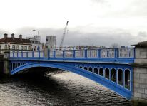 The numbers don't quite stack up... the Rory O'More Bridge crossing Dublin's Liffey near Heuston station... it was opened at the V&A Bridge and even known as the Queen Victoria Bridge in it's day... then another set of numbers came about...