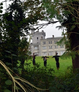 The spooks in the grounds of the Glenart Castle, Arklow, Co Wicklow