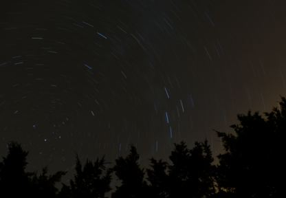 A few minutes of clear Irish sky... enough for a bit of fun!