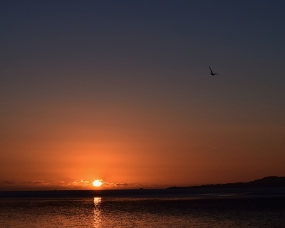 Chilly winter's morning Dublin Bay sunrise... Dec 2014