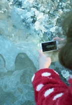 GLW & phone... out in the icy weather taking phone pics!!