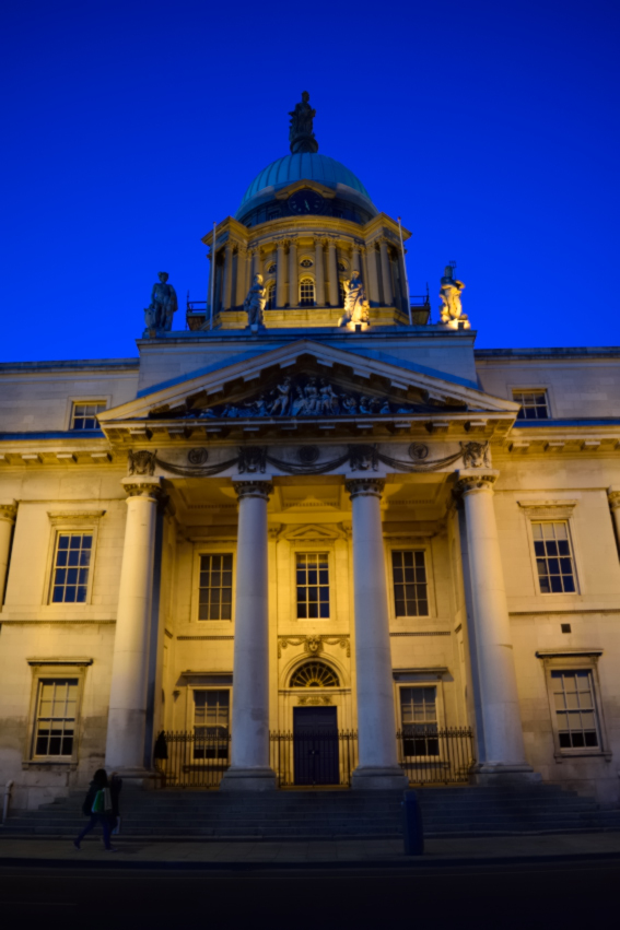The Custom House on Dublin's Quays...