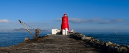 Dirth walls!! Dublin's Poolbeg Lighthouse... Valentines Day 2015!
