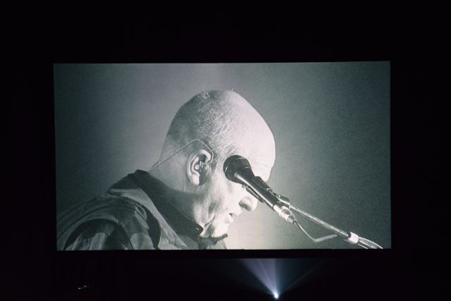 Peter Gabriel in full colour black and white! 10 December 2015 in Dublin, Ireland