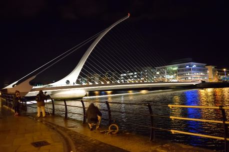 The graceful curves of Dublin's Samuel Beckett Bridge... sexy?