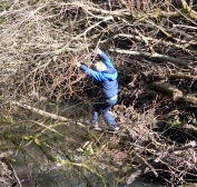 GSK doing the outdoors! Crossing his Rubicon! ;-)
