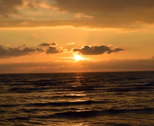 The motion... the sea! The tranquility of the sea!