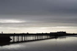 Wooden Bridge... the access to Dublin's Bull Island