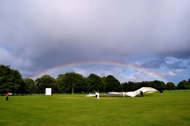 Rainbow in Phoenix Park, Dublin, Ireland... May madness??
