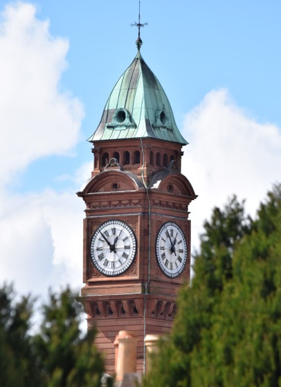 The Clock Tower in Rathmines, Dublin, Ireland