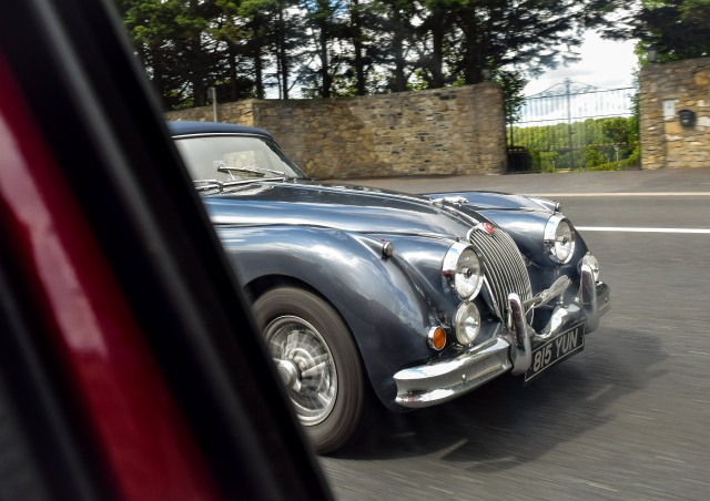 Old lady cruising along serenely... I could do with a toy like this!
