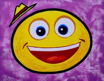 Happy days!!! Junior Son's smiley...