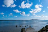 Blue bay... Howth as seen from the Great South Wall... beautiful on a sunshine day!