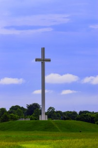 Dublin's Papal Cross, in the Phoenix Park, erected in Sep 1979