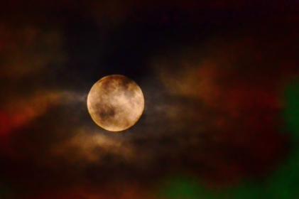 Blue Moon 31 July 2015, as seen from Co Kildare, Ireland