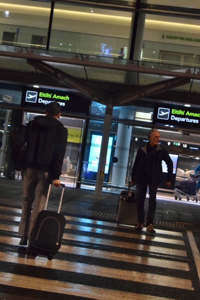 Dropping Senior Son at the airport... at 05h30 in the morning!! Off to the UK he goes... new beginnings!!