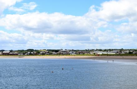 Skerries... a happy summer scene!