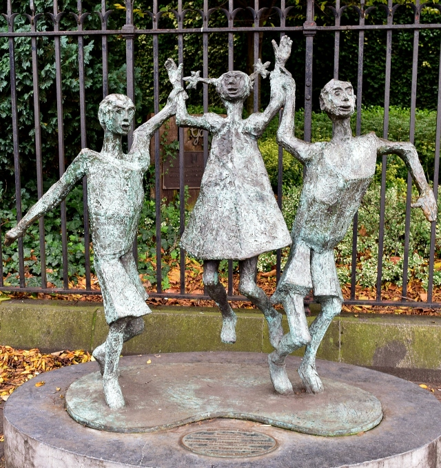 Millennium Child... by John Behan in Dublin, Ireland