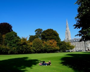 Summer loving? Maybe more like autumn bliss! Taken in the grounds of the Maynooth College, Co Kildare, Ireland