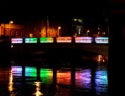 A sense of things optimistic is seen and felt all around Dublin these days!! Happy 2016!!