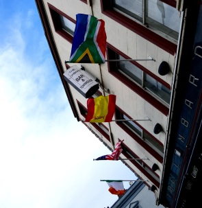 Good to see the SA flag outside a pub in Dublin... only pity, it's upside down! The pub shall remain a pain in any Saffer's but!!! Get your act together, please!!