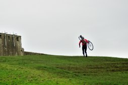 Look at him run! But why?? He could be cycling... surely?? Phoenix Park, Dublin...