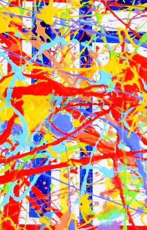 Snippets from my Jackson Pollock tribute...