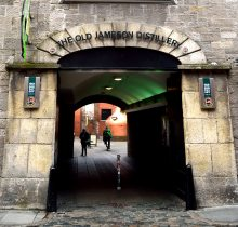 Dublin's Old Jameson Distillery... well worth a visit!