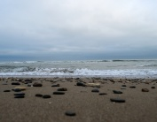 Oh... to be beside the seaside... yeah, that's where I am!!!! Bliss... beach just south of Arklow, Co Wicklow!