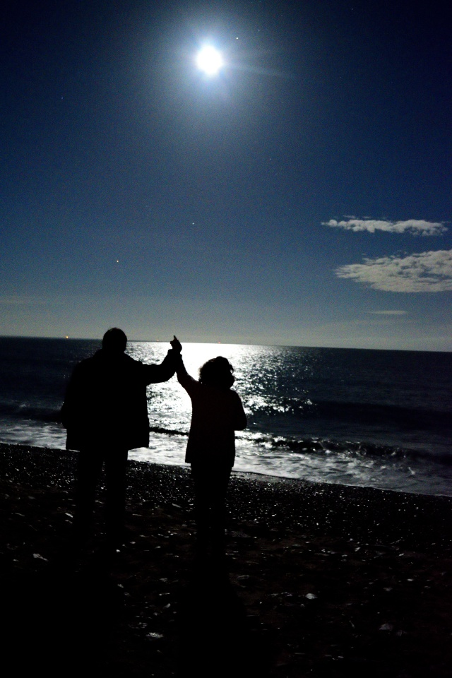 Supermoon beach fun!! 15 Nov 2016... Arklow, Co Wicklow, Ireland!